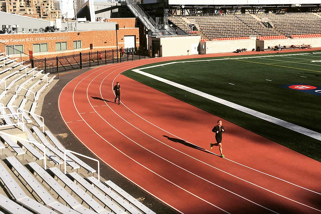 Seven Track Workouts to Burn Fat
